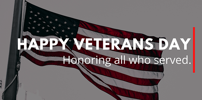 Veterans Day Message from SVP, Dennis Cartwright